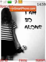 Lonely Emo theme screenshot
