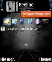 Dark Tunnel theme screenshot