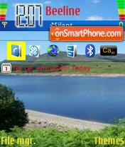 Lake es el tema de pantalla