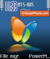 MSN es el tema de pantalla