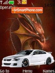 Bmw M6 Dragon es el tema de pantalla