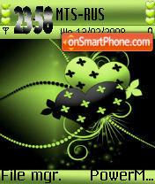 Abstract Heart ver2 s60 es el tema de pantalla