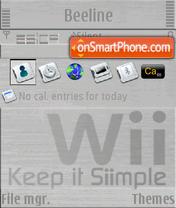 Nintendo Wii S60v3 es el tema de pantalla