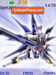Gundam es el tema de pantalla