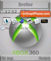 XBox S60v3 es el tema de pantalla