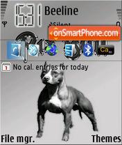 Pitbull 03 theme screenshot