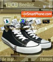 Levi's Shoes S60v3 es el tema de pantalla