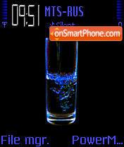 Neon H2O es el tema de pantalla