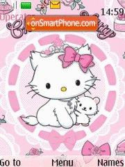 Hello Kitty 09 theme screenshot