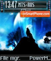 Wild Blue es el tema de pantalla