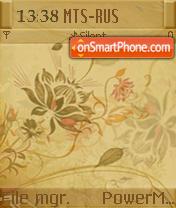 Golden L'amour S60v2 theme screenshot