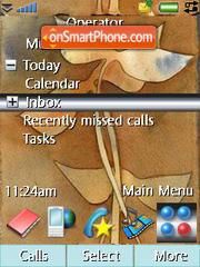 Leaf 01 theme screenshot