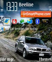 BMW X5 05 es el tema de pantalla