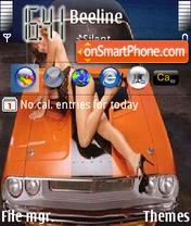 Sexy Car es el tema de pantalla