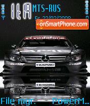 Animated Mercedes DTM es el tema de pantalla