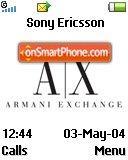 Armani Exchange es el tema de pantalla