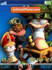 Worms 02 es el tema de pantalla