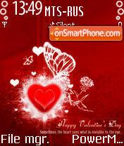 Valentin es el tema de pantalla