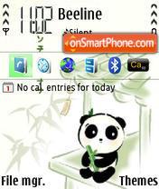 Panda 02 theme screenshot