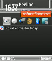 Wmp7 theme screenshot