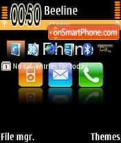 IPhone 03 theme screenshot