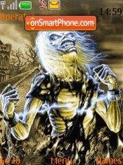 Iron Maiden theme screenshot