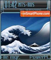 BlueBlack Final theme screenshot