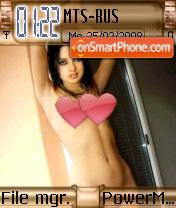Riya Naked theme screenshot