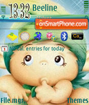 Green Elf tema screenshot