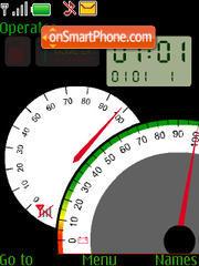 Spidometr theme screenshot