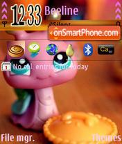 Pink Snail es el tema de pantalla