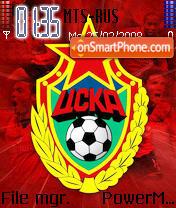 FC CSKA theme screenshot