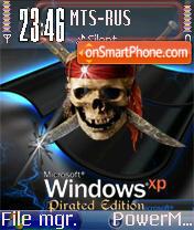 Win XP Pirated theme screenshot