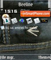 Energie S60v3 es el tema de pantalla
