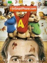 Alvin And Chipmunks theme screenshot