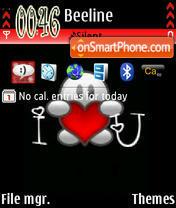 I Love U Exclusive 01 es el tema de pantalla