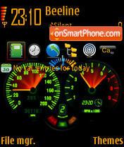 Speed 03 es el tema de pantalla