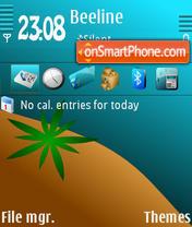 Seaside QVGA theme screenshot
