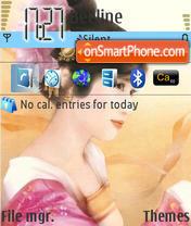 Japanese theme screenshot