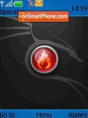 Black Theme theme screenshot