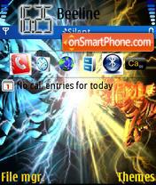 Naruto vs theme screenshot