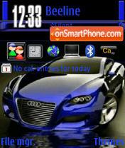 Blue Audi Locus es el tema de pantalla