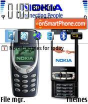 3310 N95 for N80 theme screenshot