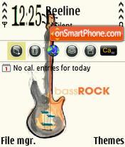 Bass Rock theme screenshot