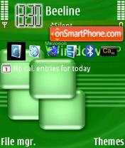 Green Xp es el tema de pantalla