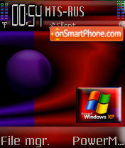 Redxp Behalf theme screenshot