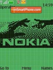 Capture d'écran Nokia Nostalgie thème