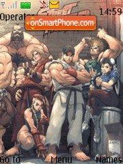 Street Fighter theme screenshot