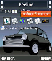 Mini Cooper S60v3 es el tema de pantalla