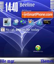 Windows Vista ver2 s60v3 es el tema de pantalla